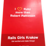 Rails Girls Youth Kraków poster